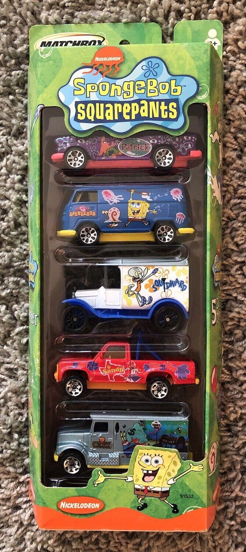 Rare Mattel Matchbox ~ Peanuts ~ 5 Vehicle Collectors Set ~S