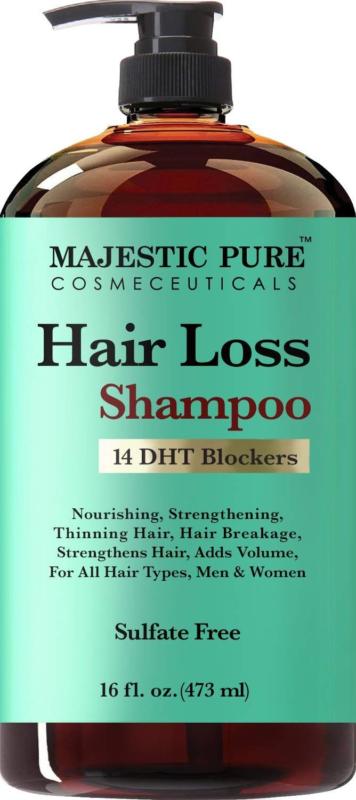Hair Loss Hair Regrowth Shampoo for Men Women Add Volume Str