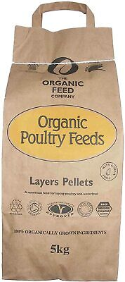 5KG - Allen & Page Organic Feed Company Layers Pellets - Chicken Bantam Feed