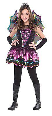 Spinnenfee Kostüm Gr. 110 traumschön Karneval Mädchen Kostüm Kinder Halloween