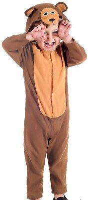 Baby Kleinkind Jungen Mädchen süß Bär Tierspaß TV Film Kostüm Kleid Outfit