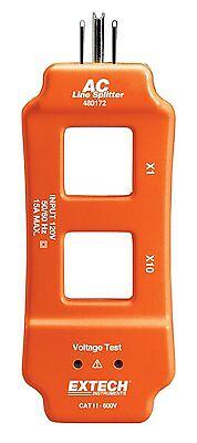 Extech 480172 AC Line Splitter, New, Free Shipping