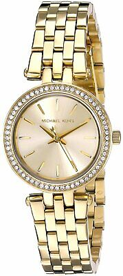 Michael Kors Women's MK3295 'Mini Darci' Gold-Tone Stainless Steel Quartz Watch