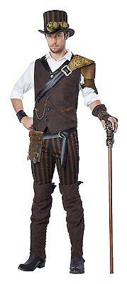 Steampunk Adventurer 01508 Kostüm (Steampunk Herren Kostüme)