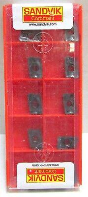 Sandvik Coromant Carbide Milling Insert R390 -11-t3 12e-pm 1010 Rectangular