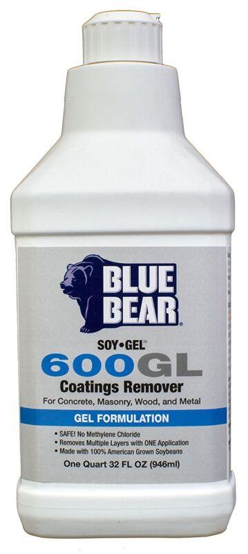 Blue Bear BBISGQT 600GL Coatings Remover - 1 Quart