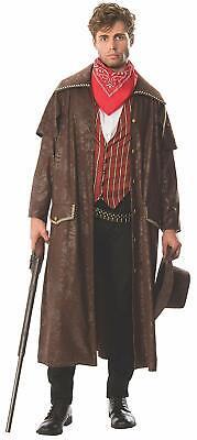 Cowboy Outlaw Wild Western Sheriff Fancy Dress Up Halloween Adult Costume - Western Outlaw Costume