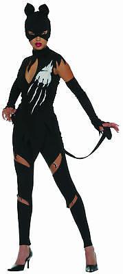 heiße Mieze Katze Karneval Fasching Kostüm Gr. (Heiße Katze Kostüm)