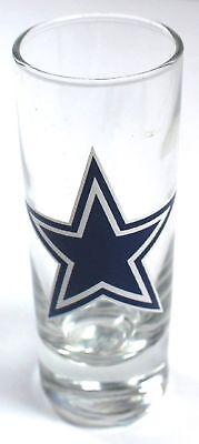 Cowboys Shot Glass (DALLAS COWBOYS NFL 2.5 oz CLEAR CORDIAL SHOOTER SHOT GLASS***FREE)