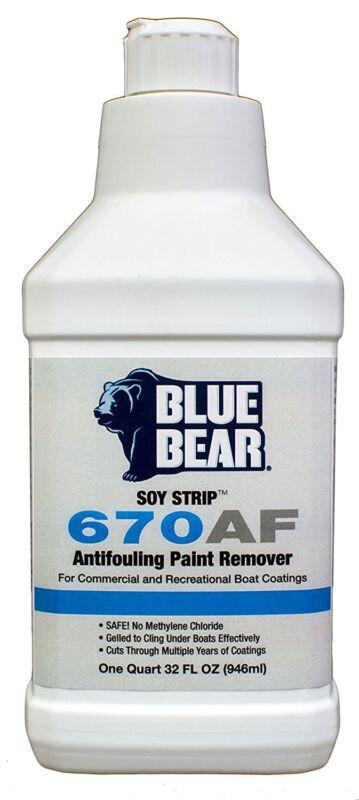 Blue Bear BBIMSQT 670AF Anti-Fouling Paint Remover - 1 Quart