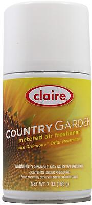 Claire 118 7 Oz. Country Garden Metered Air Freshener Aeroso
