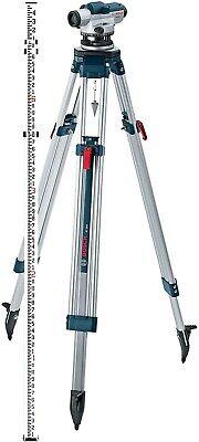 New Bosch Gol 26ck 26x Optical Leveling Full Kit Wtripod Rod Case And Tools