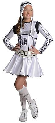 Stormtrooper Girl Star Wars Classic Fancy Dress Up Halloween Teen Costume - Stormtrooper Costume Women