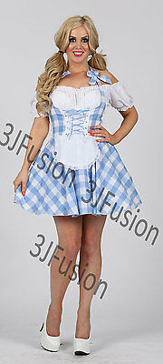 SEXY Texas Country Cowgirl Dolly Parton Fancy Dress Outfit Costume FREE POST (CC