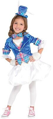 Mädchen Teen Smart Wunderland Weißen Kaninchen Büchertag Kostüm - Alice Im Wunderland Kaninchen Kostüm Mädchen