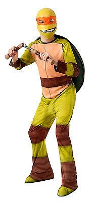 Teenage Mutant Ninja Turtles Michelangelo Child Costume Halloween Boy TMNT LARGE](Halloween Ninja Turtles)