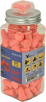 Foam Ear Plugs For Sleeping Noise Cancelling 32db Sound Blocking Bell-shaped