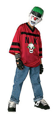 Scary Evil Clown Fancy Dress Up Halloween Child Costume (Happy Clown Halloween-kostüme)