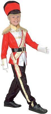 Jungen Mädchen Tin Soldier Nussknacker Weihnachtskostüm Outfit 4-12years