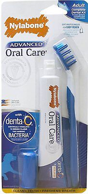 Dog Oral Teeth Care Dental Kit Toothpaste Toothbrush Dogs Fresh Breath Healthy