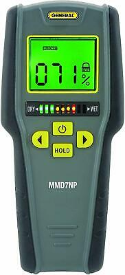 General Tools Mmd7np Pinless Non-invasive Non-marring Digital Moisture Meter Us