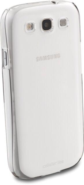 Cellular Line Galaxy S3-S3 Neo Invisible Rubber Case  Coverhülle Transparent Kun