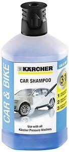 Kärcher 1L 3-in-1 Car Shampoo Plug And Clean Pressure Washer Detergent Vehicle