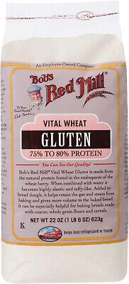 Bobs Red Mill Vital Wheat Gluten Flour, 22 Oz Bobs Red Mill Vital Wheat Gluten Flour