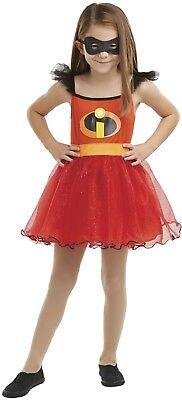 Mädchen Violett Incredibles Tutu Superheld Pixar Film Kostüm Kleid Outfit