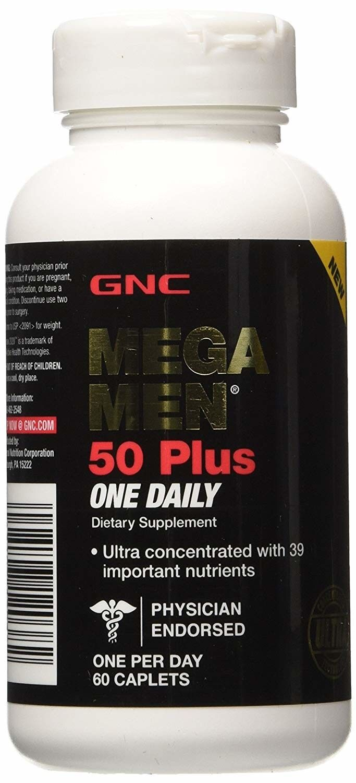 mega men 50 plus one daily supplement