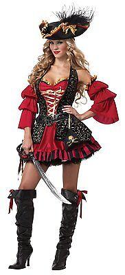Erwachsene Damen Spanisch Piraten Meer Ozean Versand Sexy - Sexy Spanische Piraten Kostüme