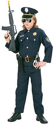 Police Officer Matt Kinderkostüm NEU - Jungen Karneval Fasching Verkleidung Kost