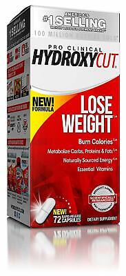 Hydroxycut Pro Clinical Hydroxycut Lose Weight 72 Capsules Pro Clinical Lose Weight