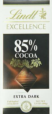 Lindt Excellence Extra Dark Chocolate 85% Cocoa, 3.5-Ounce -