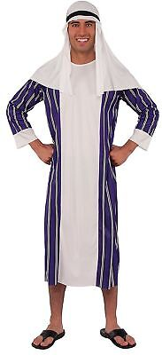 Arab Sheik Costume Adult Halloween Fancy Dress one Size Rubies](Arab Costume Halloween)