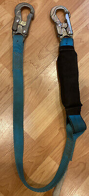 Shock Absorbingsnap Hook Lanyard Scaffolding Safety Harness Osha