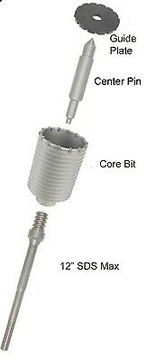 Hitachi 313466 Sds Max Shank For 1-inch To 1-38-inch Diameter Core Bithit0079