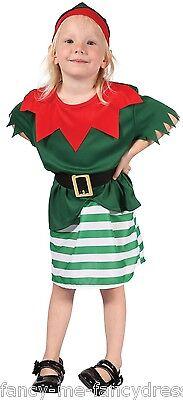Kleinkind Mädchen Weihnachten Weihnachtsmann Elfen Halloween Kostüm Kleid Outfit