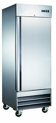 Eq Kitchen Line Cfd-1ff 29 Single Solid Door Reach-in Freezer - 23 Cu. Ft.