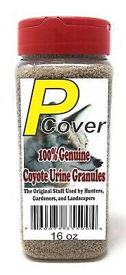 Coyote Urine Deer (P-Cover Coyote Urine Granules. Pest Control for Deer Rabbit etc FREE)