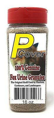 P-Cover Fox Urine Granules. Pest Control for Chipmunks Gopher etc FREE SHIPPING! Gopher Pest Control