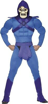 Mens Deluxe Skeletor Cartoon Stag Do 80s TV Halloween Fancy Dress Costume Outfit](80s Cartoon Characters Halloween Costumes)