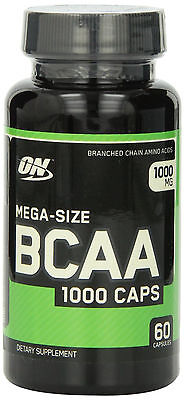 Optimum Nutrition Bcaa 1000Mg Amino Acids   60 Capsules