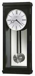 Howard Miller Alvarez 625440 Wall Clock NEW in opened original box black satin