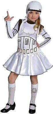 Mädchen Star Wars Stormtrooper TV Buch Film Halloween Kostüm Kleid Outfit