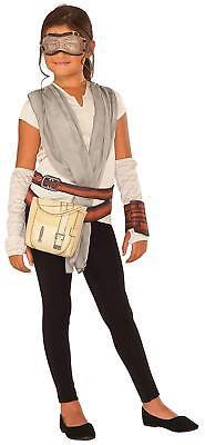 Neu Disney Star Wars Rey Deluxe Zum Verkleiden Kostüm Spielset Mädchen (Mädchen Star Wars Kostüm)