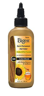 Bigen Semi-Permanent Haircolor #Gb6 Golden Blonde 3oz
