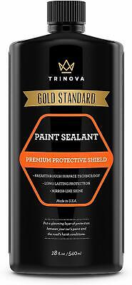 TriNova Paint Sealant for Car Long Lasting Protection & Shine, Glossy Coat, 18oz