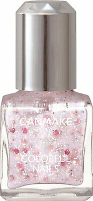 Canmake Colorful Nails Strawberry Milk 8ml Summer Color Nail Polish Japan