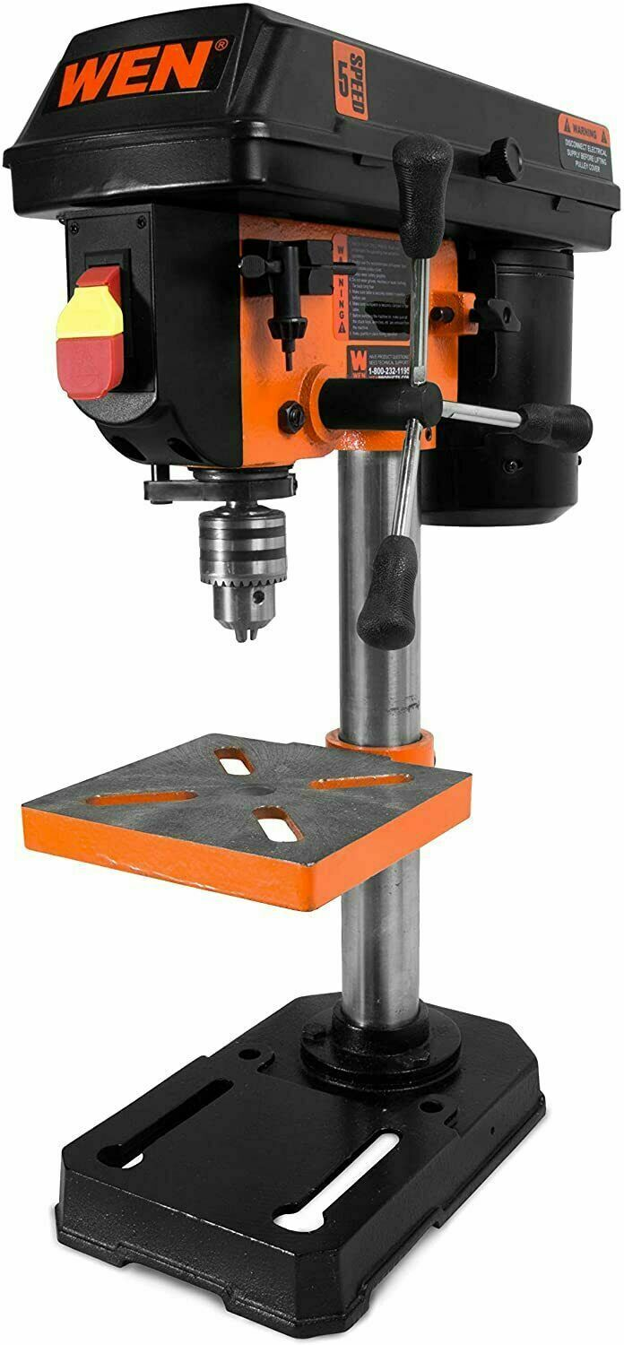"""WEN 4208 8"""" 5-Speed Drill Press NEW SHIP NOW !"""